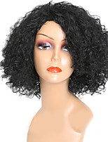 cheap -Cheap Women Black Color Synthethic Wig Top Selling Medium Long Afro Kinky Curly Synthetic Hair Wigs For Black Women