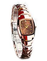 Mulheres Caixas para relógios Relógio de Pulso Único Criativo relógio Simulado Diamante Relógio Relógio Casual Relógio de Moda Relógio