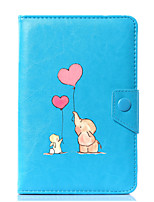cheap -Universal Cartoon Elephant PU Leather Stand Cover Case For 7 Inch 8 Inch 9 Inch 10 Inch Tablet PC