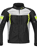 uomini giacca protettiva per motociclisti quattro stagioni impermeabile protezione per l'inverno per il motorsport