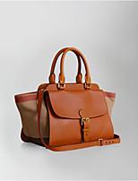 cheap -Women Bags PU Tote Zipper for Outdoor Winter Fall Black Red Brown