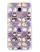 preiswerte -Hülle Für Xiaomi Redmi Note 4X / Redmi Note 4 Muster Rückseite Katze / Cartoon Design Weich TPU für Xiaomi Redmi Note 4X / Xiaomi Redmi Note 4 / Xiaomi Redmi Note 3 / Xiaomi Redmi 4A