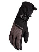 cheap -Winter Gloves Ski Gloves Unisex Full-finger Gloves Keep Warm Windproof Wearable Breathable Skiing Printable Polyester Waterproof Fabric
