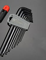 rallongée clé Allen ensemble tête ronde t-type 5mm / 3mm6 angle combinaison tournevis neuf ensembles d'outils caractéristiques tête de