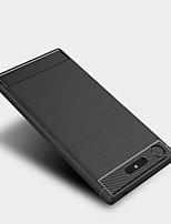 billiga -fodral Till Sony Xperia XZ1 / Xperia XA1 Ultra Frostat Skal Enfärgad Mjukt TPU för Xperia XZ1 Compact / Sony Xperia XZ1 / Sony Xperia XZ Premium