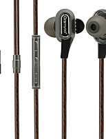 cheap -X68 In Ear Wired Headphones Dynamic Plastic Sport & Fitness Earphone Noise-isolating with Microphone Headset