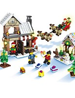 Building Blocks Toys House Houses Kids 741 Pieces