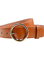 Women's Wide Belt,Brown White Black Camel Casual Solid