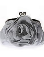 preiswerte -Damen Taschen Seide Abendtasche Spitze für Veranstaltung / Fest Alle Jahreszeiten Weiß Schwarz Silber Beige