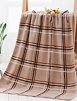 Style frais Serviette de bain,Carreaux Qualité supérieure Pur Coton Serviette