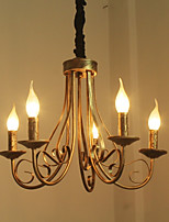 Retro/Vintage Chandelier For Living Room Bedroom Study Room/Office AC 110-120 AC 220-240V Bulb not included