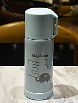 Office/Career Drinkware, 350 Coated Steel Water Vacuum Cup