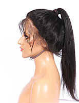 360 Lace Front Wig With Baby Hair No-remy Silky Straight Glueless Brazilian Human Hair