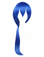 cheap -24inch Long Blue The kingdom of Sleeping and 100 Princes Seyi Wig Synthetic Anime Cosplay Wig CS-273E