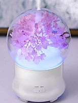 1pc привело цветок формы (4 варианта) ночной увлажнитель постоянного тока с питанием 5v 2w много источников света