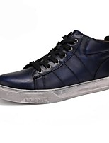 cheap -Men's Shoes PU Spring Fall Comfort Sneakers For Casual Blue Black Gold
