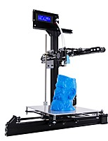 New Design Large Printing Size 200*200*260mm Metal 3D Printer Auto Leveling DIY 3D Printer Kit With Heated Bed and Two Rolls Filament
