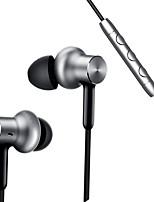 Xiaomi En el oido Con Cable Auriculares Dinámica Acero inoxidable Deporte y Fitness Auricular Estéreo DE ALTA FIDELIDAD Auriculares