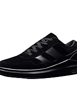 Men's Shoes Cashmere Spring Fall Comfort Sneakers For Casual Khaki Gray Black