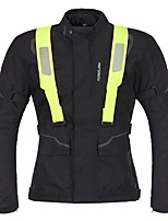 economico -uomini giacca protettiva da moto caldo impermeabile cintura riflettente cintura protettore ingranaggio per motorsport