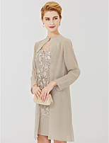 cheap -Long Sleeves Chiffon Wedding Party / Evening Women's Wrap With Buckle Coats / Jackets