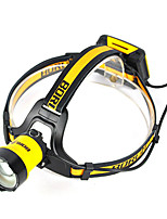 cheap -B16 Headlamps LED 400 lm 3 Mode Cree XM-L L2 Professional Adjustable High Quality Camping/Hiking/Caving Everyday Use Police/Military