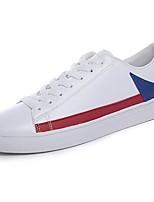 economico -Da uomo Scarpe Tessuto Primavera Autunno Suole leggere Sneakers Per Casual White/Blue Bianco e verde