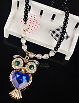 Women's Pendant Necklaces Alloy Pendant Necklaces , Animals Lovely Fashion European Gift Daily