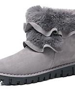 preiswerte -Damen Schuhe Pelz Herbst Winter Schneestiefel Modische Stiefel Stiefeletten Springerstiefel Stiefel Mittelhohe Stiefel Für Kleid Party &