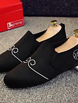 Homme Chaussures Daim Printemps Automne Moccasin Mocassins et Chaussons+D6148 Pour Décontracté Noir Gris Jaune Bleu