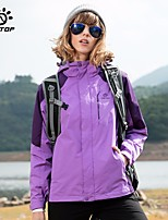 Unisex Hiking Jacket Outdoor Winter Windproof Wearable Breathability Skiing Heat Retaining 3-in-1 Jacket Full Length Hidden Zipper