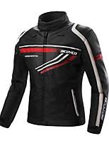 abordables -chaqueta de la motocicleta de los hombres a prueba de choques que descarga el engranaje del protector del jecket de la gota para los