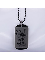 Men's Pendant Necklaces Bird Stainless Steel Hip-Hop Personalized Jewelry For Daily Casual