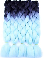 Ombre Synthetic Jumbo Hair Braids 24