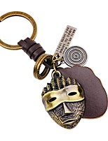 Keychains Jewelry Leather Alloy Irregular Classic Fashion Carnival Going out