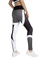 Pantalon de yoga Leggings Yoga Taille médiale Extensible Vêtements de sport Femme Yoga Course Pilates Décontracté Multisport