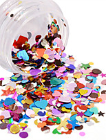 cheap -Nail Glitter Art Deco / Retro Sequins 0.003kg/box