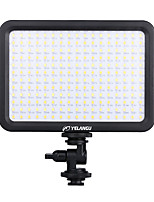 yelangu avec température de couleur de la lampe réglable pour tous les caméscopes led lumière de panneau de lumière vidéo