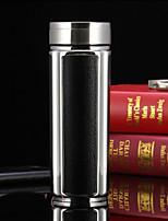 Office/Career Drinkware, 350 Organic Glass Stainless Steel Tea Water Water Bottle