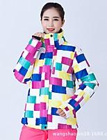 Women's Ski Jacket Waterproof Thermal / Warm Windproof Wearable Breathability Skiing Ski / Snowboard Snowboarding Others