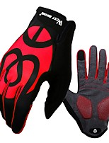 Sports Gloves Unisex Cycling Gloves Autumn/Fall Spring Bike Gloves Windproof Skidproof Full-finger Gloves Touch Screen Gloves Lycra
