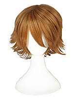 cheap -Short Blonde Tokyo Ghoul Wigs Synthetic Anime Cosplay Wig 195C