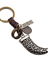 cheap -Keychains Jewelry Leather Alloy Irregular Vintage Rock Gift Bar