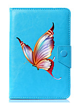 Universal Butterfly PU Leather Stand Cover Case For 7 Inch 8 Inch 9 Inch 10 Inch Tablet PC