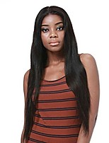 cheap -360 Lace Frontal Natural Straight Human Hair Wigs-Glueless 180% Density Brazilian Virgin Remy Wigs with Baby Hair