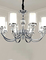 Traditional/Classic Chandelier For Living Room Dining Room Study Room/Office AC 110-120 AC 220-240V Bulb Not Included
