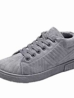 cheap -Men's Shoes PU Spring Fall Comfort Sneakers For Casual Brown Gray Black