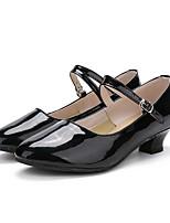 """preiswerte -Damen Modern Lackleder Sneaker Aufführung Maßgefertigter Absatz Schwarz 1 """"- 1 3/4"""" Maßfertigung"""