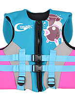 cheap -Life Jacket Kid's Spring, Fall, Winter, Summer Swimming Fishing Swimming Sailing Windsurfing Cartoon Sky Blue