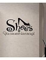 Mots & Citations Stickers muraux F & B Autocollants muraux décoratifs,Papier Décoration d'intérieur Calque Mural For Fenêtre